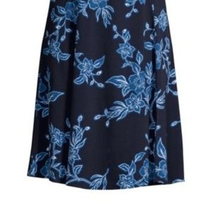 Draper James Shadow Floral A line skirt
